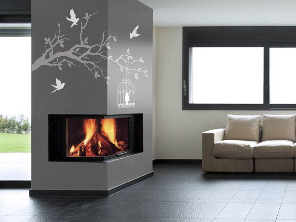 Kamin Farbe wandtattoo ast kamin jpg 600 450 pixel wohnzimmer
