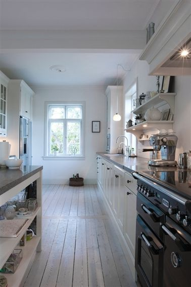 Style Nouvelle Angleterre scandinavian comfort and new england style in denmark | kitchen