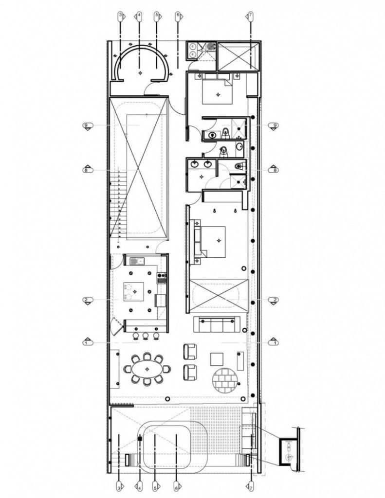 Minimalist traditional japanese house floor plan for Japanese house plans free