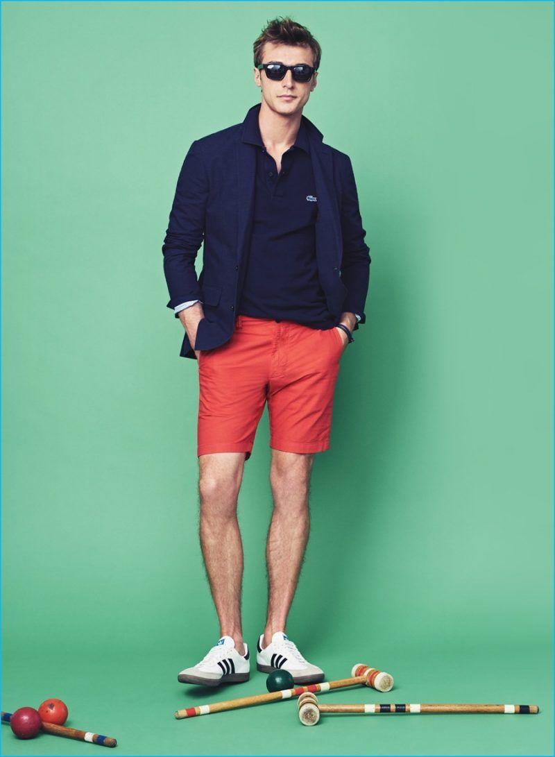 936728450cd1 Everyday Style  Clément Chabernaud wears J.Crew Ludlow summerweight  cotton-linen blazer in coastline navy