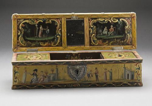 Sewing Box (Costurero)  Mexico, 1800  The Los Angeles County Museum of Art