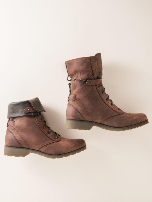 Teva De La Vina Lace-Up Boots   Sahalie