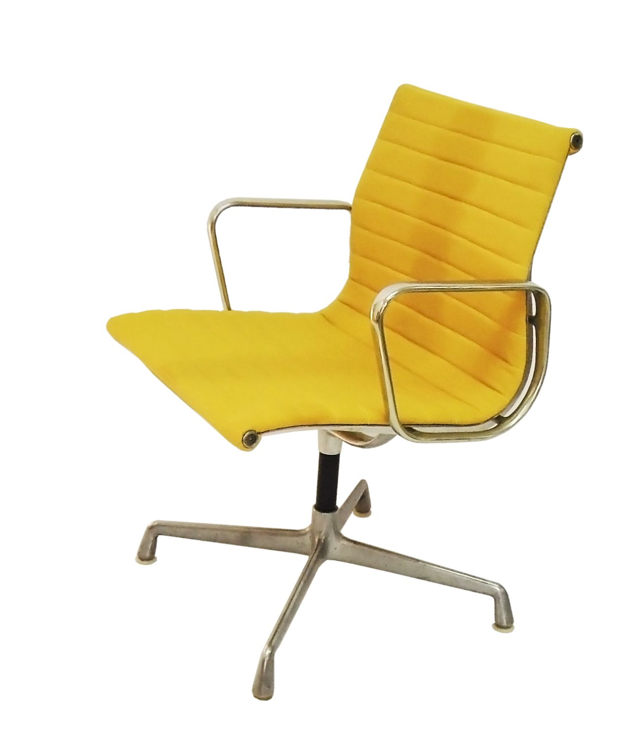 Eames aluminum group chair we reupholstered