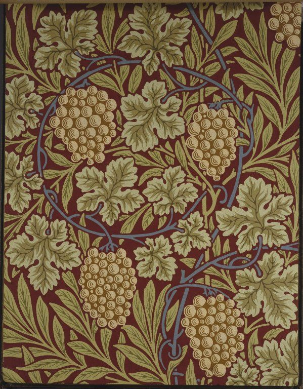 William Morris and Company. Wallpaper Sample Book, before