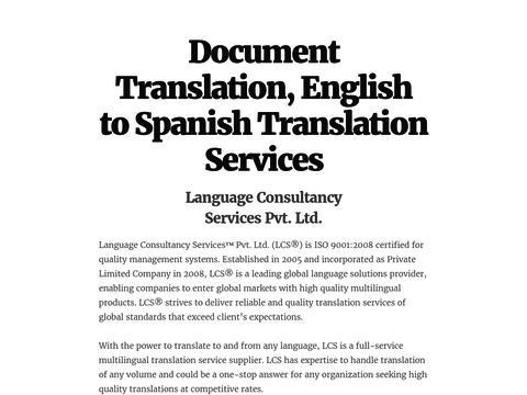 Document Translation, English to Spanish Translation Services | Translation,  Language translation, Documents