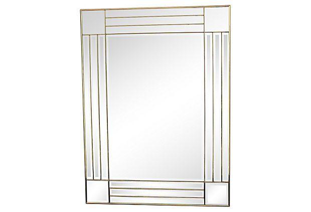 1970s Art Deco-Style Mirror on OneKingsLane.com