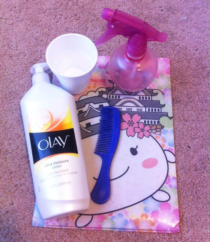 ⭐️DIY Wig Detangler Without Fabric Softener⭐  42bea33cb3b3