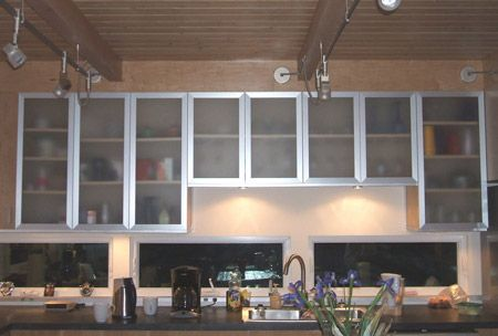 Metal And Gl Kitchen Cabinet Doors Weifeng Furniture