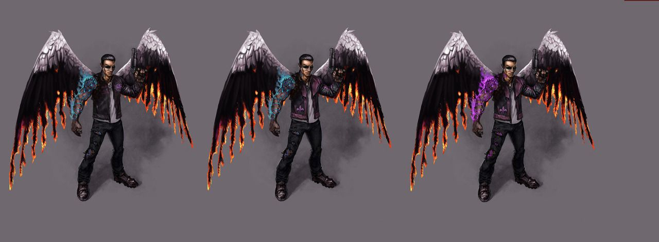 Our last day of the Johnny Gat out of Hell Gallery Blowout concludes with an archive of near final concepts for the game!