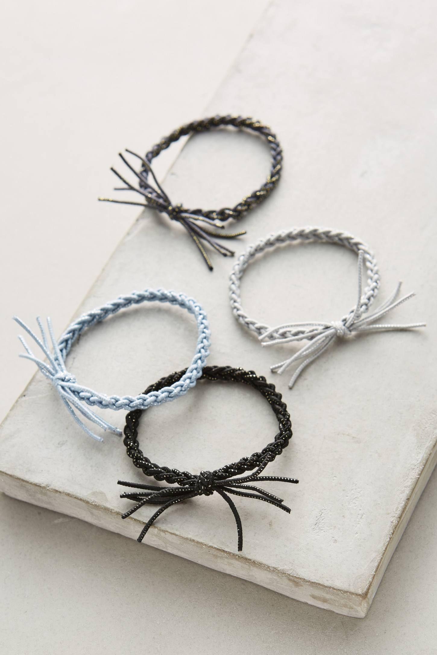 Braided Hair Tie Set Hair Ties Hair Tie Bracelet Tie Set
