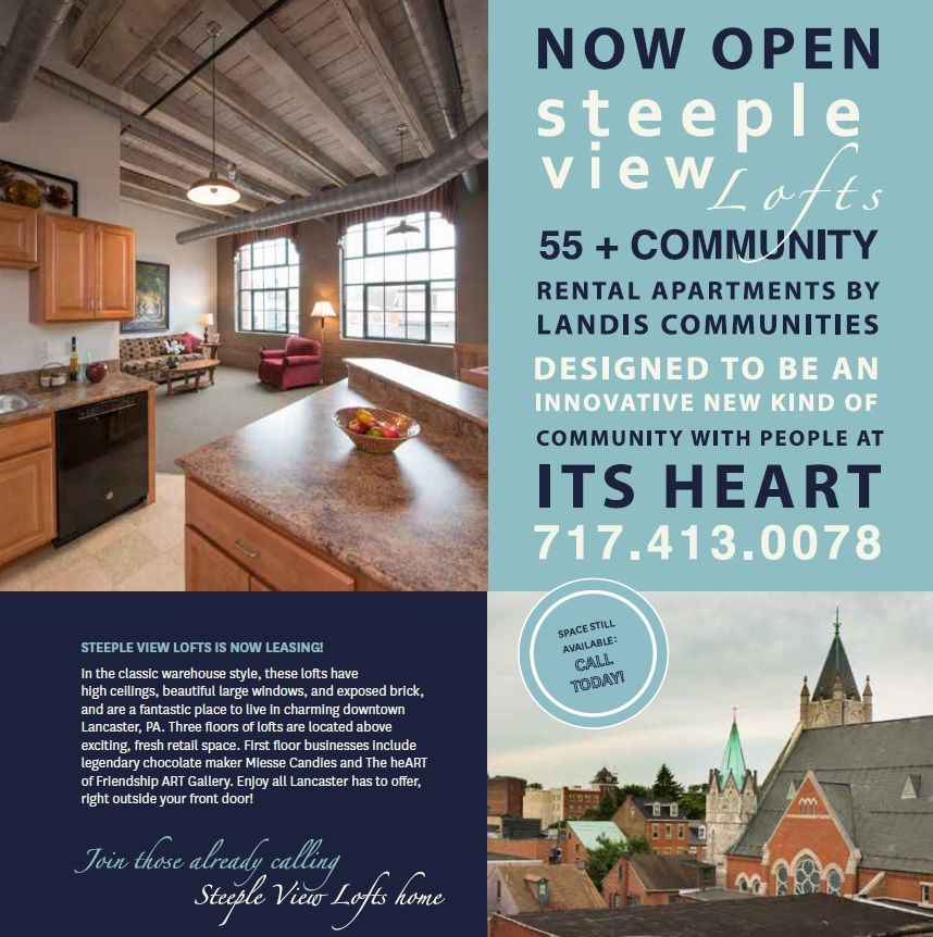Come Check Out The Lofts. Join Our Growing Community
