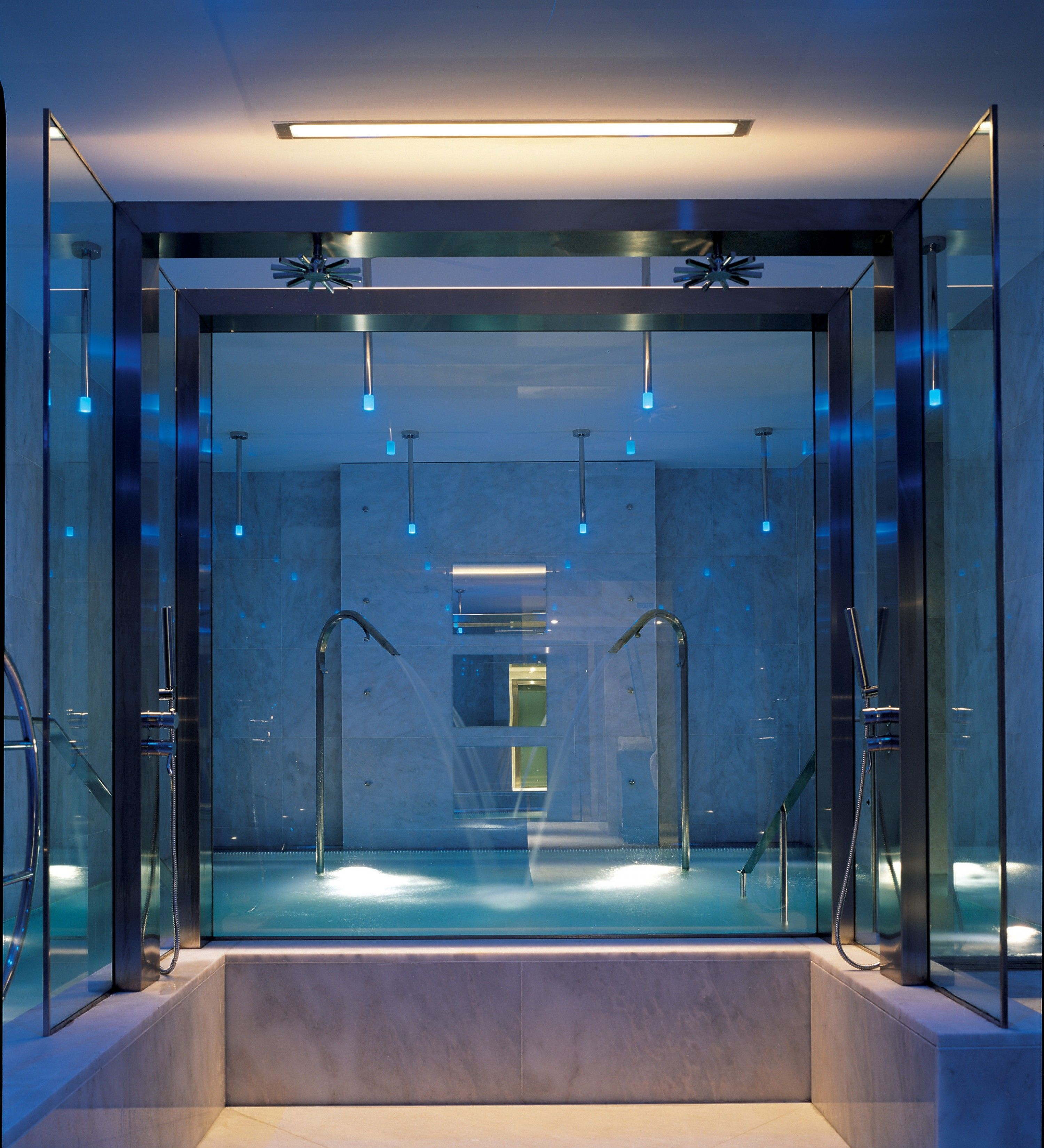Boscolo Aleph Roma Luxury Spa Underground Inside An Old Bank