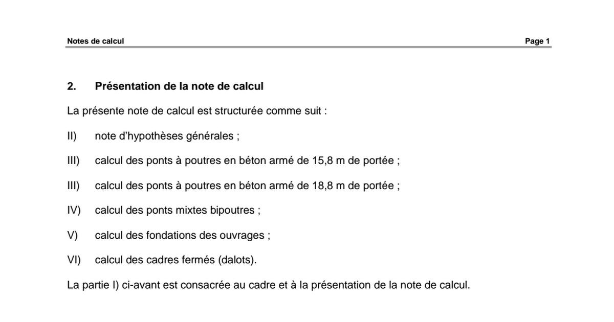 notes de calcul pont ba.pdf (With images) Front door