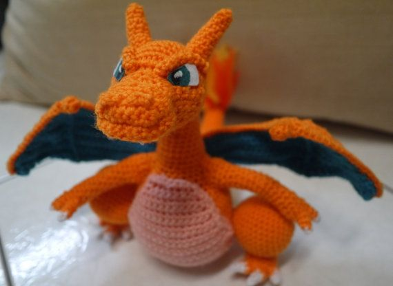 Amigurumi Doll Arms : Charizard amigurumi doll by drunkwithcaffeine on etsy gotta catch