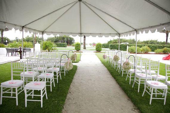 wedding ceremony under tent wedding pinterest tents