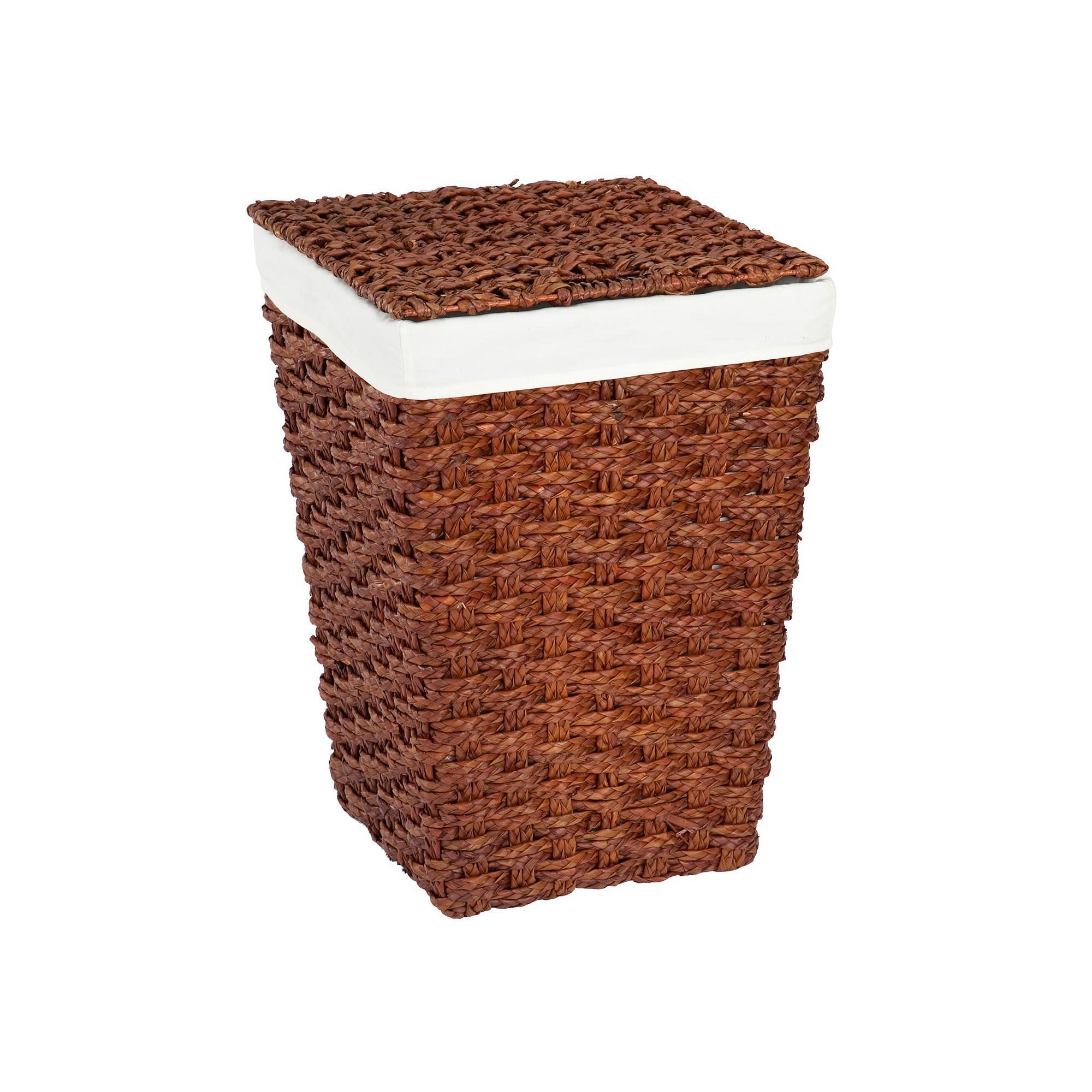 Creative Ware Home Chunky Weave 2 Hamper Brown Laundry Hamper Hamper Basket