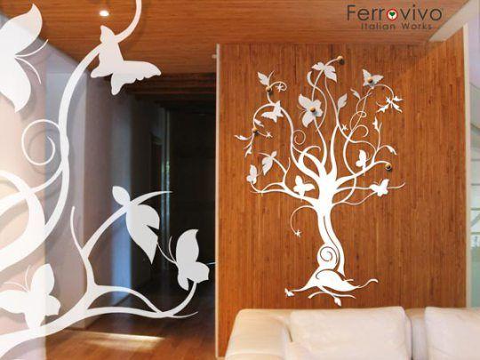 Attaccapanni A Muro Albero.Appendiabiti Albero Ingresso Muro Design Creare Home Decor