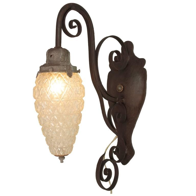 1920s Exterior Light With Original Etched Glass From A Unique Collection Of Antique And Modern Wall Lights And Sconces Wall Lights Unique Wall Sconce Sconces