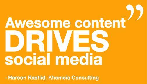 #bridgeinteractivemedia #socialmedia #marketing #management #digitalmarketing #consulting #socialmediaquotes #haroonrashid #khemeiaconsulting