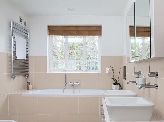 Peinture salle de bain - Elle Décoration Deco maison Pinterest