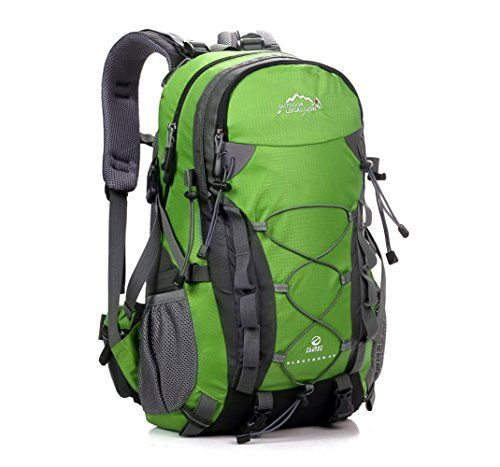7e439d7a66f4 Cuckoo Outdoor Hiking Climbing Backpack Daypacks Waterproof Mountaineering  Bag 40L Unisex Highcapacity Travel BagGreen     More info could be found at  the ...