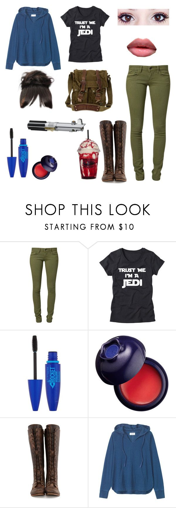 """""""My Star Wars character"""" by nick-unknown ❤ liked on Polyvore featuring Mavi, Maybelline, Tony Moly, John Fluevog, Toast, Belstaff and KEEP ME"""