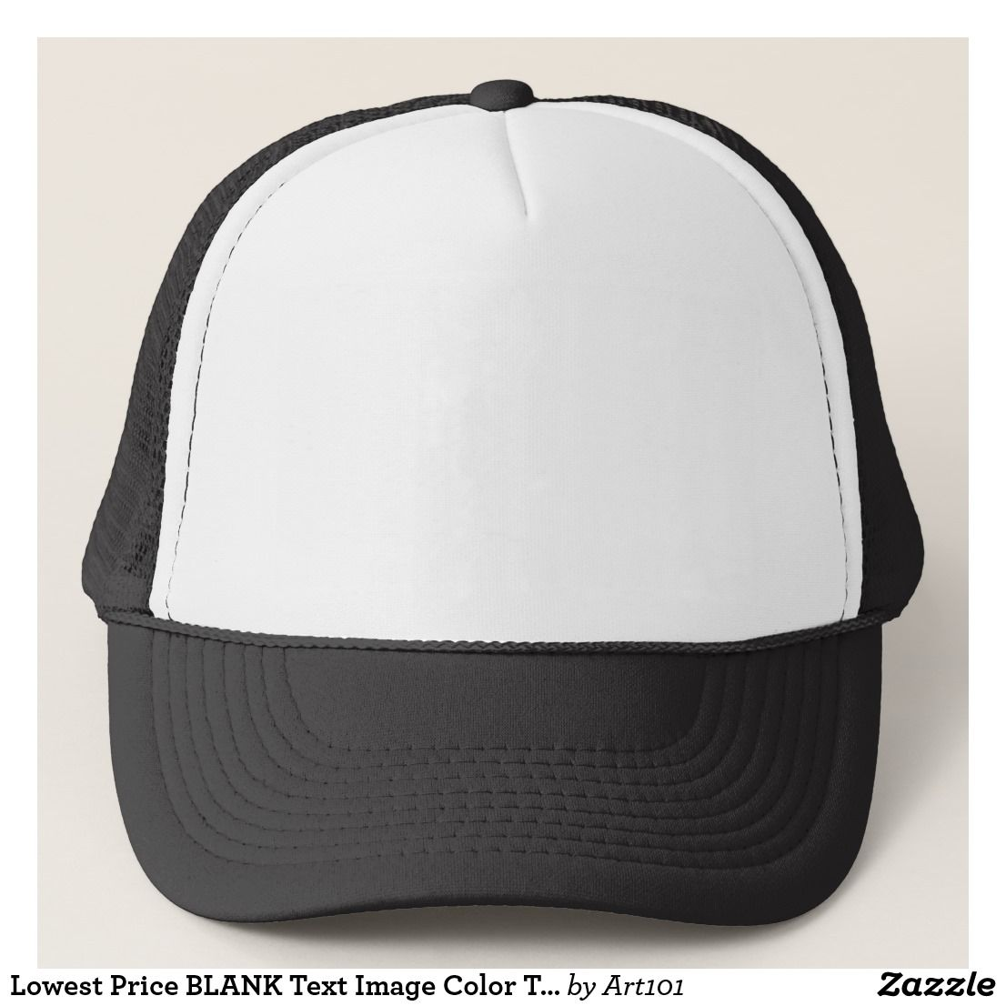 Lowest Price BLANK Text Image Color TEMPLATE DIY Trucker Hat | 101 ...