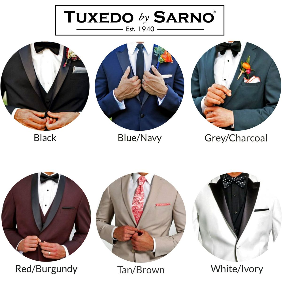 Idea Casa Full Sarno tuxedo by sarno has the largest selection of tuxedos and