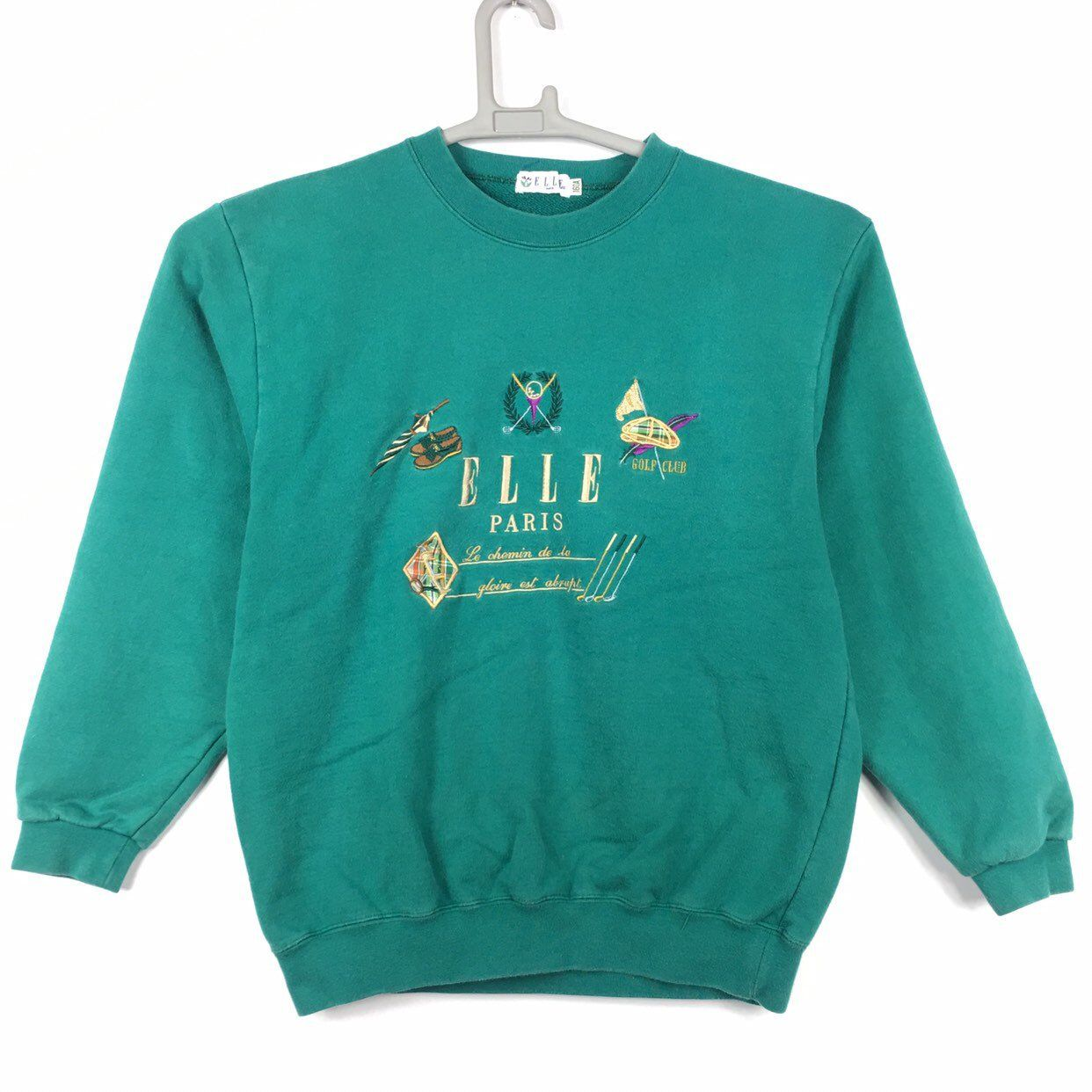 Vintage Elle Paris Women Sweatshirt Etsy Sweatshirts Women Sweatshirts Graphic Sweatshirt [ 1242 x 1242 Pixel ]