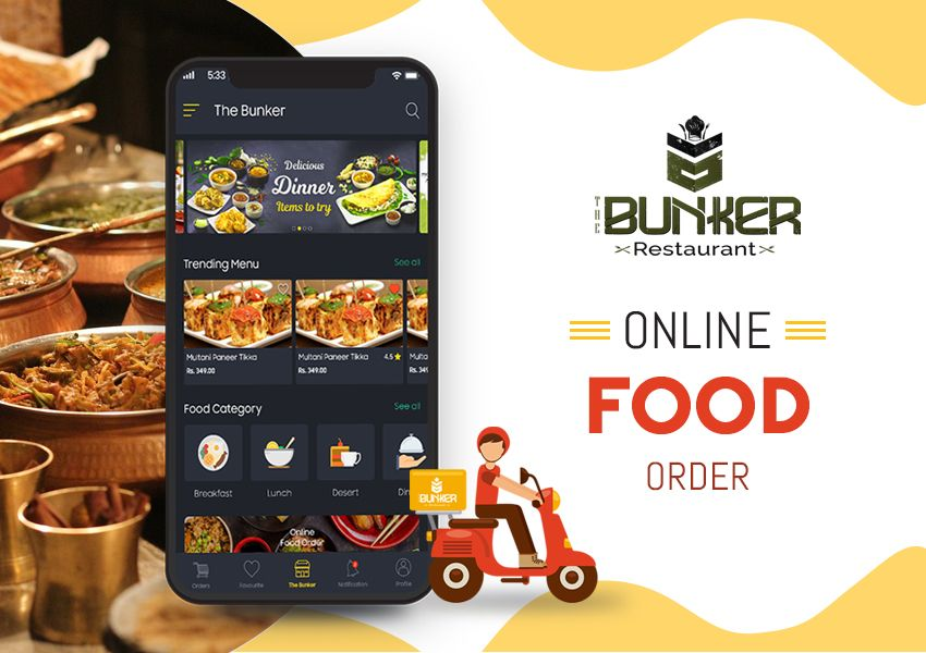 Now You Are Just One Click Away To Get Your Yummy Cuisine At Your