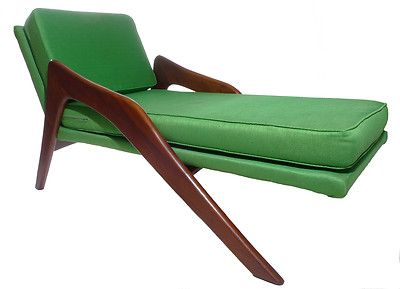 Mid Century Adrian Pearsall Craft Associates 965 Cx Chaise Lounge
