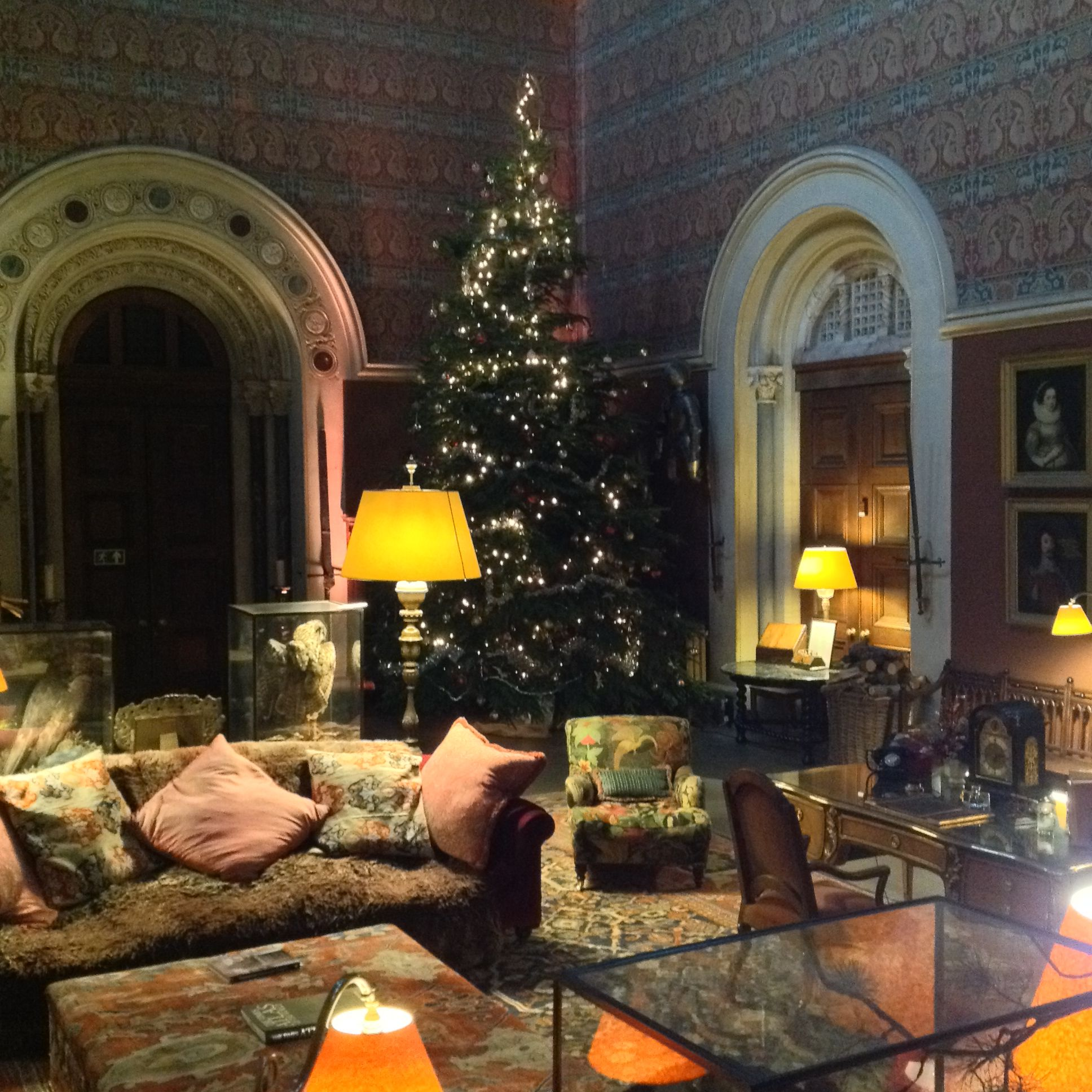 Our Favourite Xmas Photo... The Great Hall At Christmas