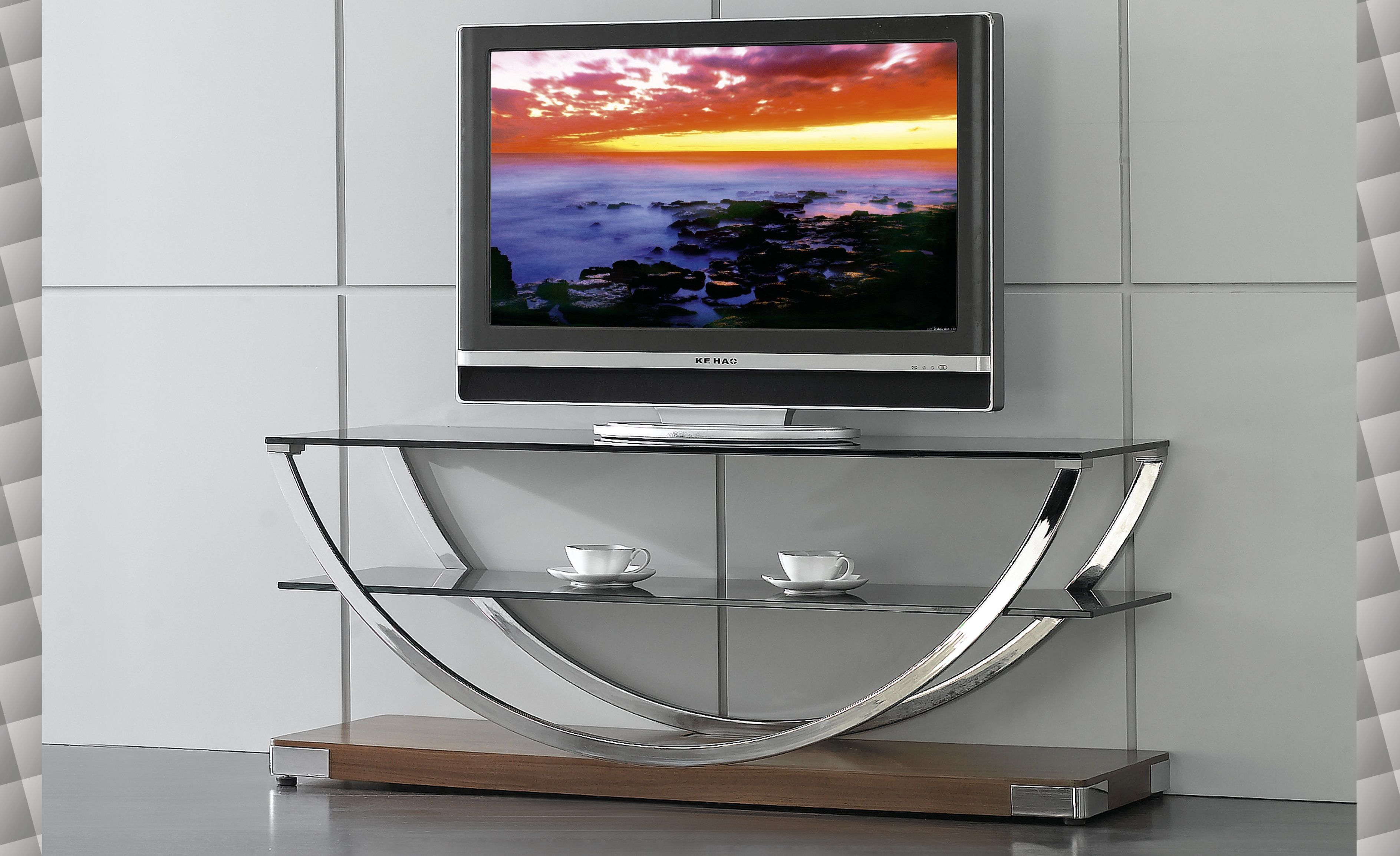 tvr modern glass tv stand by at home usa https  - tvr modern glass tv stand by at home usa httpsfurnituregallerynyccom