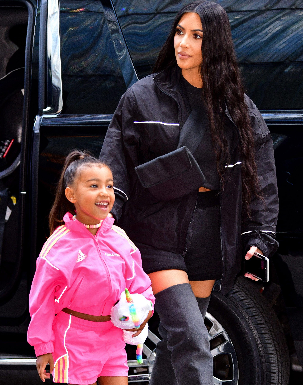 Resultado de imagen para kim kardashian y north west hd