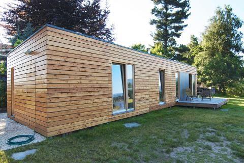 gartenh user holz metall modulhaus oder selberbauen sch ner wohnen lobbe pinterest. Black Bedroom Furniture Sets. Home Design Ideas