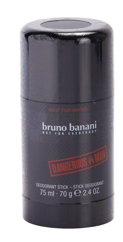 Bruno Banani Danerous Man 75ml 70g Deodorant Stick Brand New Sealed Best Fragrance For Men Deodorant Best Fragrances