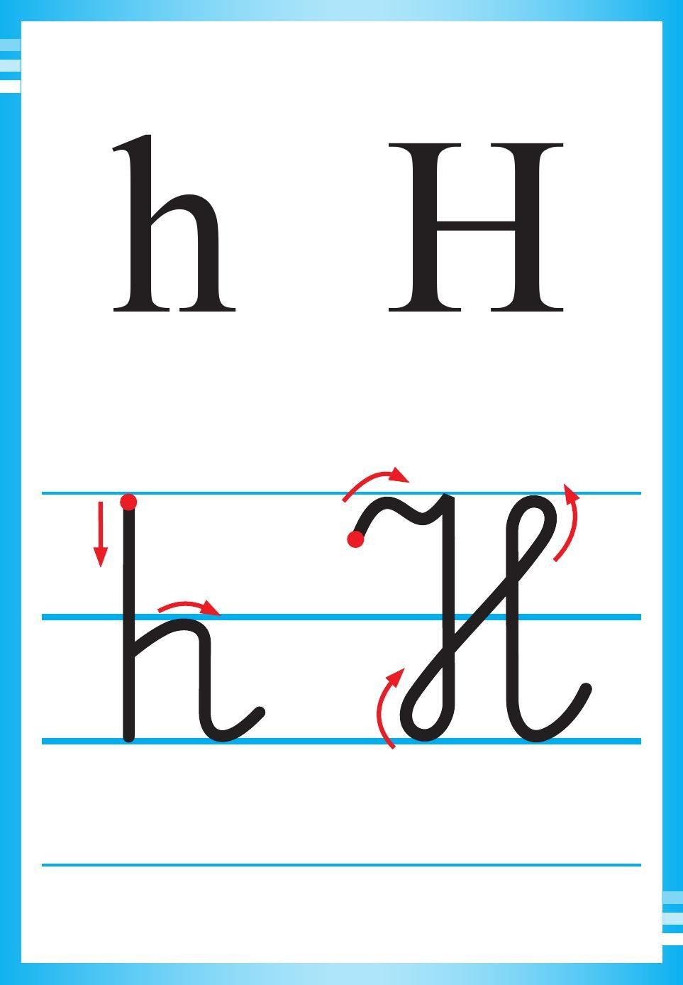 Alfabet Polski Pisany Dla Dzieci Do Druku 17 Lettering Kids Learning Learning