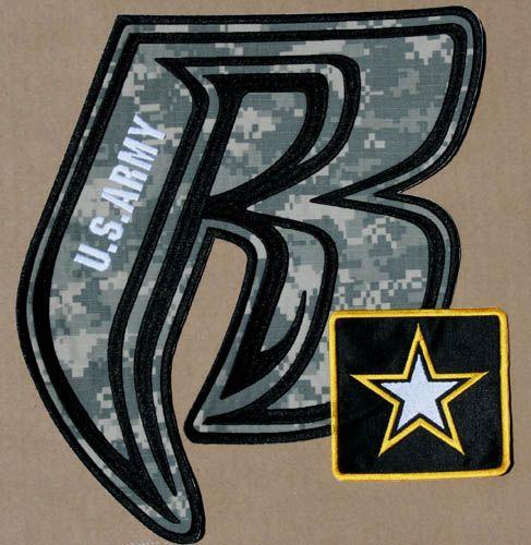 76448e02162d5 Ruff Ryder Milspec Army fabric back patch custom order