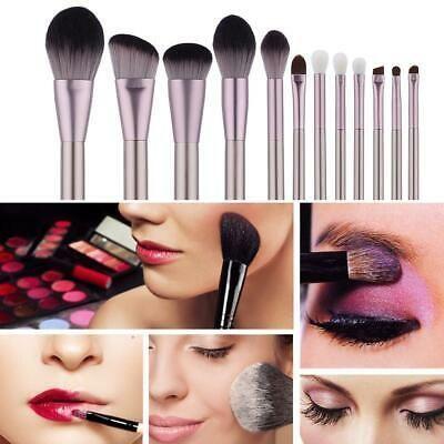 (Advertisement) 12Pcs Eyeshadow Brushes Set Powder Foundation Lip Cosmetic Make …