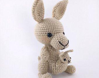 PATTERN: Flamingo Friends - Crochet flamingo pattern - amigurumi flamingo pattern - PDF crochet pattern - English only #crochetelephantpattern