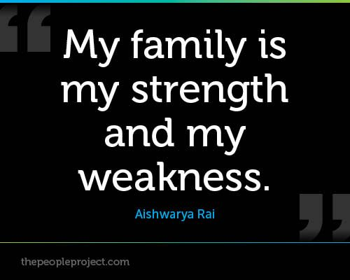 My Family Is My Strength And My Weakness Aishwarya Rai Family