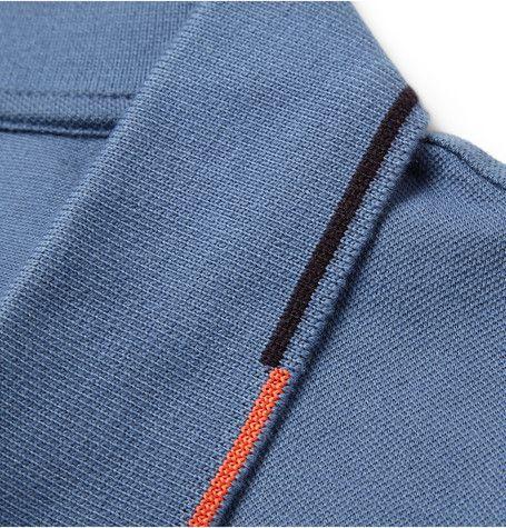 PS by Paul Smith Cotton-Piqué Polo Shirt