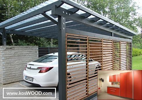 Great Garage Storage Ideas And Pics Of Garage Organization Lexington Ky Garagestorage Diygaragestorage Carport Designs Modern Carport Car Porch Design