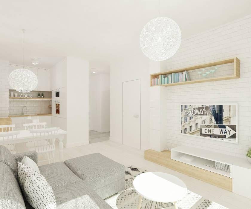 Salones de estilo escandinavo de 4ma projekt love scandi - Salones estilo escandinavo ...