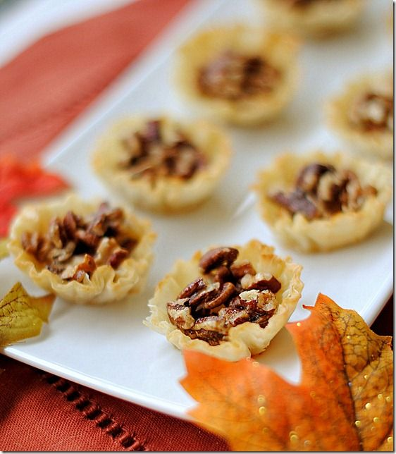 Mini Maple Pecan Pies, only 1 WW point