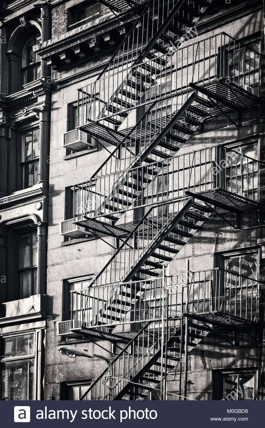 Best Download This Stock Image Outside Metal Fire Escape 640 x 480