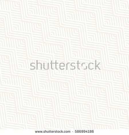 Abstract ZigZag Parallel Stripes. Stylish Ethnic Ornament. Vector Seamless Pattern. Repeating Subtle Background