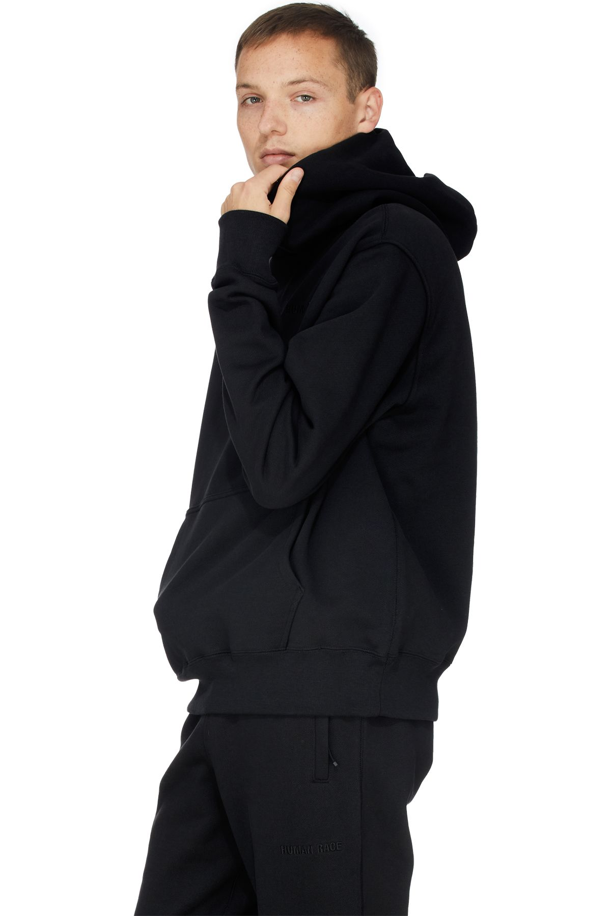 Adidas Originals X Pharrell Williams Pharrell Williams Basics Hoodie Black Black Hoodie Pharrell Williams Pharrell [ 1800 x 1200 Pixel ]