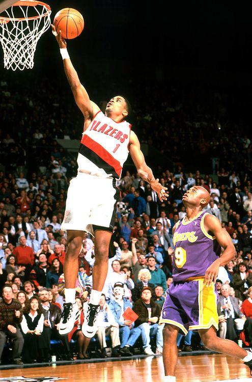 3e0a1dbdd00 Rod Strickland Portland Trail Blazers Nick Van Exel Los Angeles Lakers