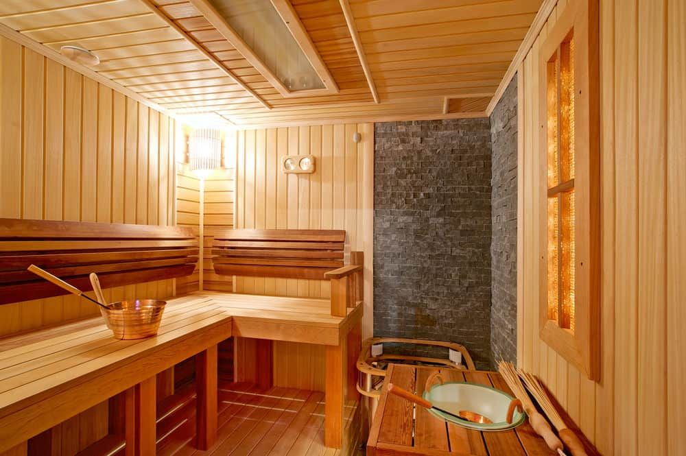 11 Sauna Dimensions Sizes And Layouts Illustrated Diagram Home Gym Design Sauna Interior Gym Room At Home